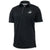 MARINES TONAL EGA UNDER ARMOUR TECH POLO (BLACK)