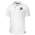 MARINES TONAL EGA UNDER ARMOUR TECH POLO (WHITE)