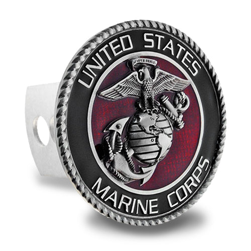 MARINES TRAILER HITCH COVER 1
