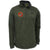 MARINES UNDER ARMOUR ARMOUR FLEECE 1/4 ZIP (OD GREEN)