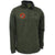 USMC UA Armour Fleec 1/4Zip OD