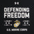 MARINES UNDER ARMOUR DEFENDING FREEDOM TECH T-SHIRT (BLACK) 2