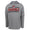 MARINES UNDER ARMOUR EGA LOGO ARMOUR FLEECE HOOD (GREY) 1