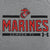 MARINES UNDER ARMOUR EGA LOGO LONG SLEEVE T-SHIRT (GREY)