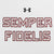 MARINES UNDER ARMOUR SEMPER FI LONG SLEEVE TECH T-SHIRT (WHITE) 6