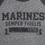 MARINES VICTORY FALLS RAGLAN LONG SLEEVE T-SHIRT (GREY/BLACK) 4
