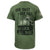ONE SHOT ONE KILL NO LUCK ALL SKILL T-SHIRT (OD GREEN) 4