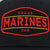 PROUD MARINES DAD MID-PRO SOLID SNAPBACK HAT (BLACK)