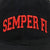 SEMPER FI TWILL HAT (BLACK) 3