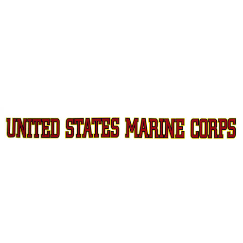 UNITED STATES MARINE CORPS STRIP DECAL 1