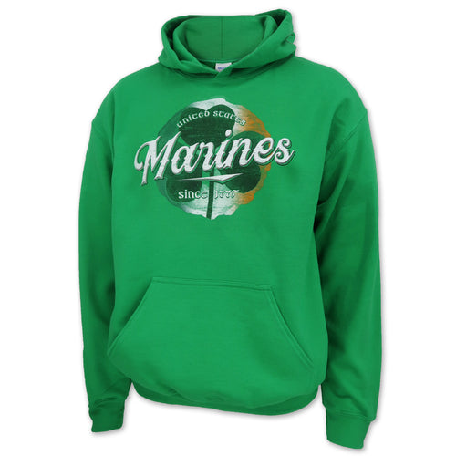 UNITED STATES MARINES SHAMROCK HOOD (GREEN)