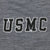 USMC ASPEN PERFORMANCE 1/4 ZIP (GREY HEATHER)