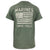 USMC DISTRESSED FLAG SEMPER FI T-SHIRT (HEATHER GREEN) 5