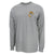 USMC EGA LOGO LONG SLEEVE T-SHIRT (GREY)