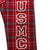 USMC FLANNEL PANTS (BLACK/RED) 4