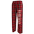 USMC FLANNEL PANTS (BLACK/RED) 5