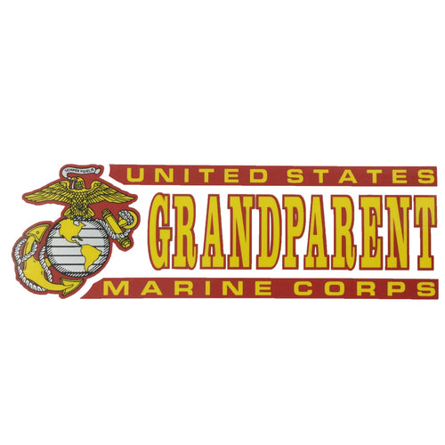 USMC GRANDPARENT DECAL 1