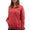 USMC LADIES DAKOTA QUARTER ZIP PULLOVER (RED) 4