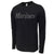 USMC LONG SLEEVE PERFORMANCE T (BLACK) 3