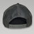 USMC LOW PROFILE SNAPBACK TRUCKER HAT (BLACK/GREY) 1