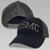 USMC LOW PROFILE SNAPBACK TRUCKER HAT (BLACK/GREY) 3