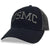 USMC LOW PROFILE SNAPBACK TRUCKER HAT (BLACK/GREY) 5