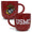 USMC MARBLED 17 OZ MUG (RED) 1