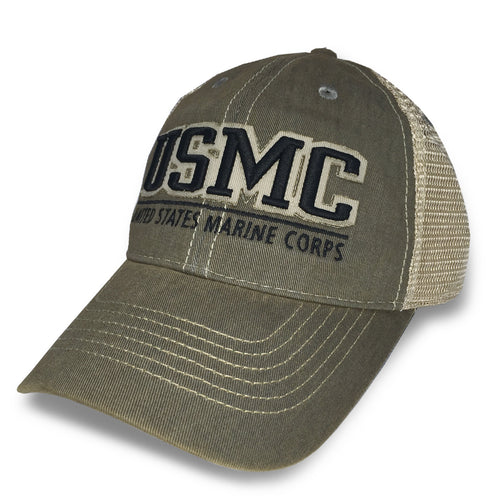 USMC OLD FAVORITE TRUCKER HAT 4