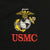 USMC PERFORMANCE POLO (BLACK) 2