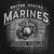 USMC STONEWALL T-SHIRT (BLACK) 2