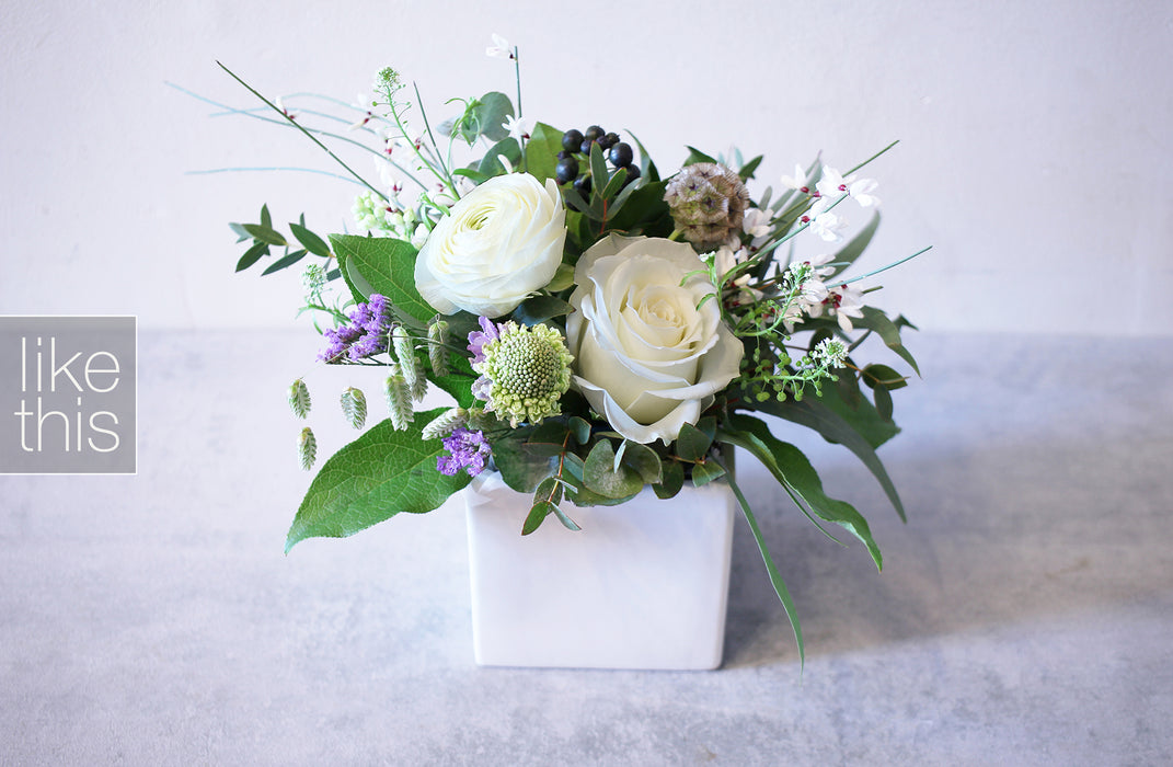 Natural White Arrangement