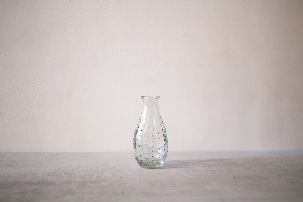 Glass Bottle  - dotted