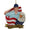 Air Force Airman USA Flag/Eagle Ornament