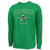 Air Force Digi Camo Shamrock Long Sleeve T-Shirt (Green)