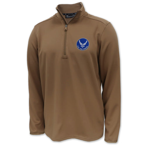 Air Force Under Armour Tactical 1/2 Zip (Coyote Brown)
