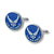 Air Force Cufflink Set With Box