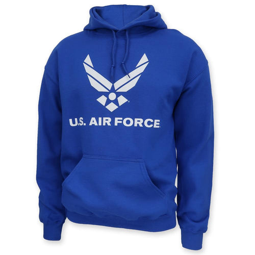 Air Force Wings Logo Hood (Royal)