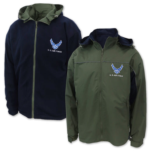 Air Force Wings Reversible Jacket (Olive/Navy)