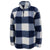Air Force Sherpa Quarter Zip Pullover (Buffalo Plaid)
