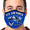 U.S. Air Force Action Face Mask (Royal)-Single or 3 Pack
