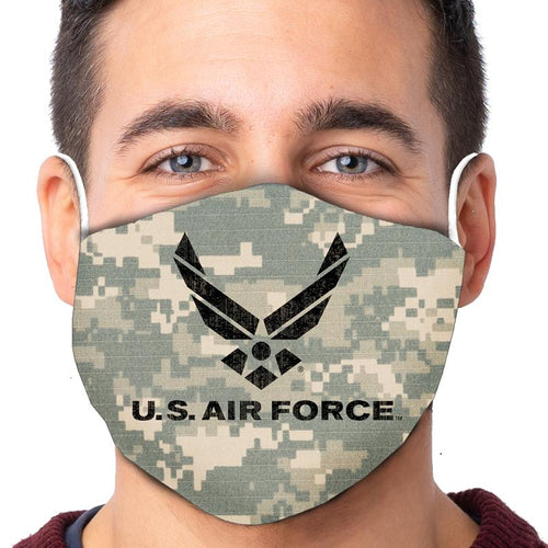 U.S. Air Force Wings PT Digital Camo Face Mask (Camo)-Single or 3 Pack