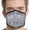 United States Air Force Arched Est. 1947 Face Mask (Grey)-Single or 3 Pack