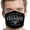 U.S. Air Force Veteran I Served Face Mask (Black)-Single or 3 Pack