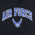 Air Force Wings Tackle Twill Fleece Hood (Black)