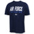Air Force Under Armour 2C Fly Fight Win Tech T-Shirt (Navy)