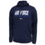 Air Force Under Armour 2C Fly Fight Win Armour Fleece Hood (Navy)