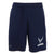 Air Force Wings Under Armour Fly Fight Win Raid Shorts (Navy)