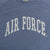 Air Force Ladies Michaela Angel Fleece Crewneck (Stonewash)