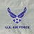 AIR FORCE WINGS 2 SIDED EMBROIDERED FLAG (2'X3')