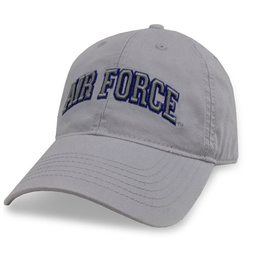 AIR FORCE ARCH LOW PROFILE HAT (SILVER)